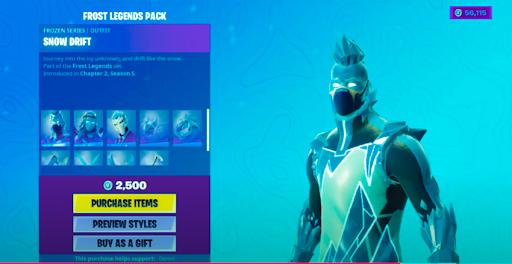 Item Shop Battle Royale - skins, emotes, dances