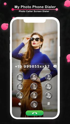 My Photo Phone Dialer - Photo Caller Screen Dialer