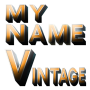 icon 3D My Name Vintage Wallpaper