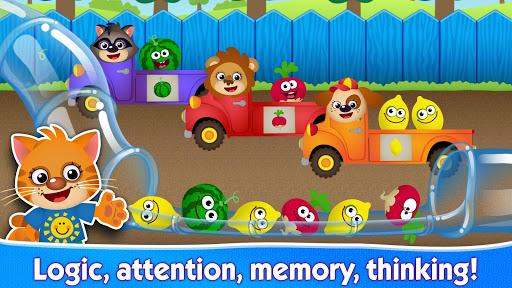 FUNNY FOOD2 Kindergarten Games