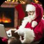 icon Real Video Call Santa