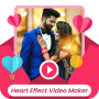 icon Heart Photo Effect Video Maker with Music