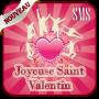 icon Saint Valentin 2021 Magnifique vœux SMS