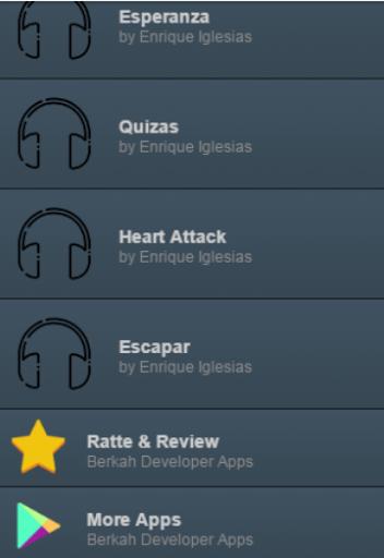 Enrique Iglesias Lyrics Music
