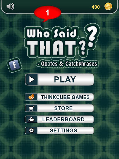 Who Said that? - catch phrases