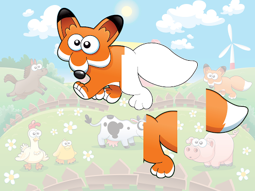 Animal sounds puzzle HD