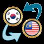 icon KRW Won x Malaysian Ringgit