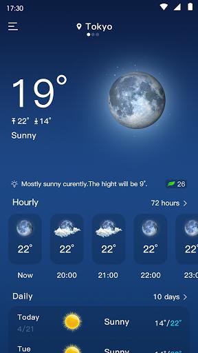 Weather Forecast & Rain Radar Live - WeaUmbla