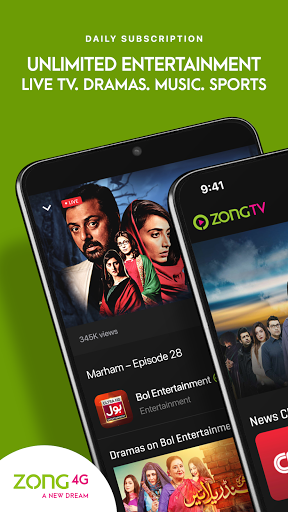 Zong TV: Watch PSL Live on Free Zong Data