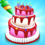 icon Perfect Colorful Cake Icing 3D
