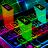 icon LED Light Keyboard 1.346.4300