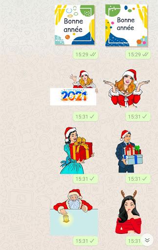 Bonne année 2021 stickers pour WhatsApp