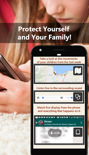 All Tracker Family. GPS, Calls and Video Tracking!