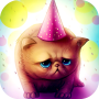 icon Birthday Cat : Cute Live wallpaper for Kids play