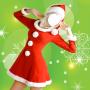 icon Christmas Dress Photo Montage