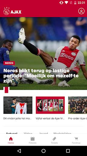 Official AFC Ajax Soccer App
