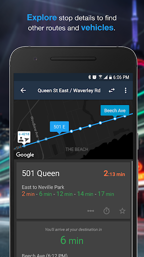 Transit Now: Bus Predictions