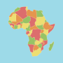 icon Africa Map Puzzle