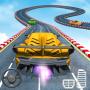 icon Superhero Car Stunts - Racing Car Games