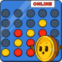 icon 4 in a row multiplayer | Online Four in Line Game