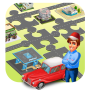 icon Car Racing Puzzle Game