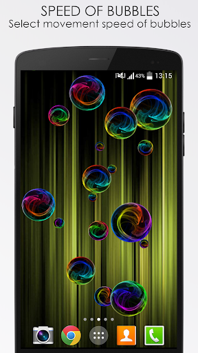Deluxe Bubble Live Wallpaper