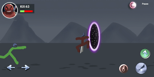 Stickman Zombie Portals : Blade Master