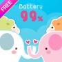 icon Pastel Battery Widget