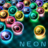 icon MB2: glowing neon bubbles 1.107