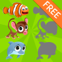 icon Free Animals Puzzles for Kids