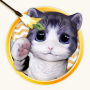 icon 3D Cat Teaser Live Wallpaper