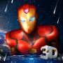 icon 3D Iron Hero Live Wallpaper