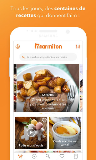 Marmiton: Gourmet recipes