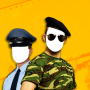 icon Police & Army Photo Montage