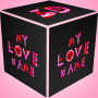 icon 3D My Name Love LWP