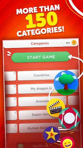 Stop - Categories Word Game