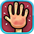 icon Red Hands2 Player Games 3.5
