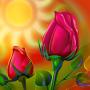 icon Rose Live Wallpaper