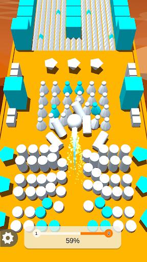 Color Ball Push 3D & Bump Game