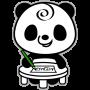 icon Memo Pad Panda (sticky) note
