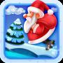 icon Santa Christmas Jump