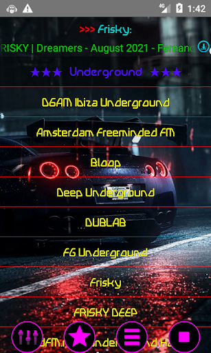 Dance Trance House music radio