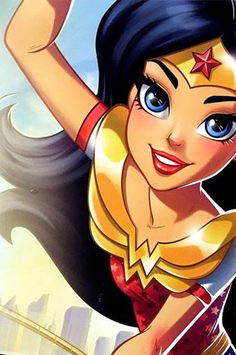 Super Hero Girls HD Wallpaper