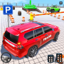 icon Crazy Jeep Extreme Car Parking Prado Car driving