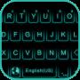 icon Neon Blue Kika Keyboard Theme
