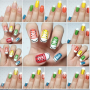 icon Nail Art Step by Step Designs