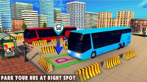 Modern Bus : Drive Parking 3D