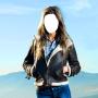 icon Women Jacket Photo Montage
