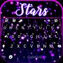 icon Shiny Stars Keyboard Background