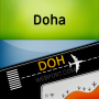 icon Doha Airport + Flight Tracker